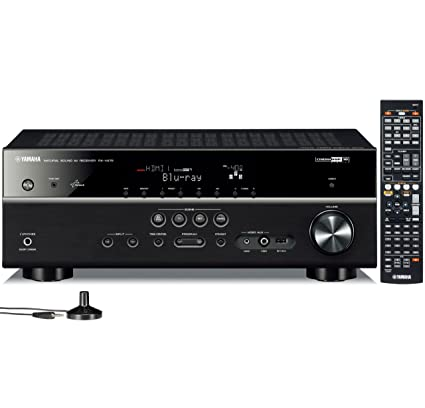 Amazon.com: Yamaha RX-V475 5.1-Channel Network AV Receiver with ...