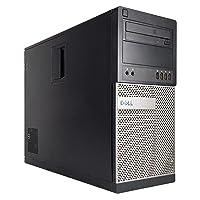 Dell Gaming 990 Desktop Computer Optiplex, Intel Core i7 upto 3.8GHz CPU, 16GB DDR3 Memory, NEW 1TB HDD, WiFi, Windows 10 Pro, Nvidia GT710 2GB (Renewed)