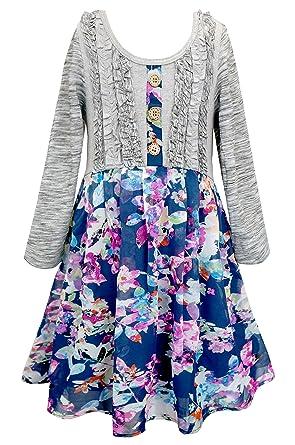 Long Sleeve Dresses for Girls 7-16