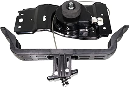 c4e44eda05 APDTY 140157 Spare Tire Winch Hoist Holder Carrier Cable   Bracket Assembly  Fits 2009-2016
