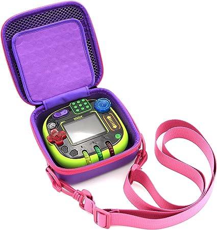 Green xcivi Hard Carrying EVA Case for Leapfrog Rockit Twist Handheld Learning Game System