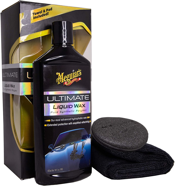 MEGUIAR'S G18216 Ultimate Liquid Wax, 16 Fluid Ounces