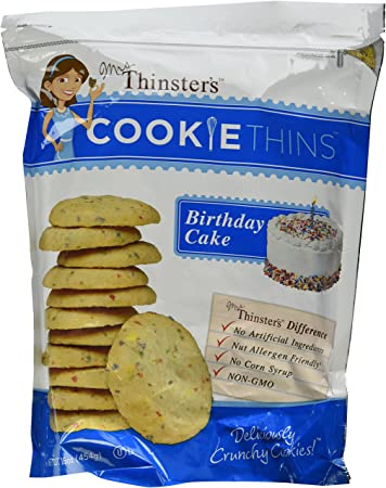 Image Unavailable Not Available For Color Mrs Thinsters Cookie Thins BIRTHDAY CAKE