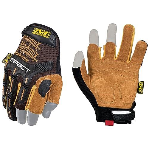 Mechanix Wear LFR-75-010 Gloves, Brown/Black, L