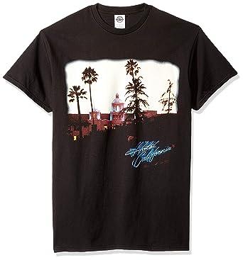 Amazon.com  FEA Men s Eagles Hotel California Short Sleeve T-Shirt  Clothing eb0ffcd87