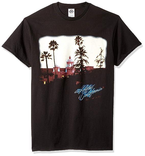 31ab435aee8e Old Glory - The Eagles - Mens Hotel California T-shirt  Amazon.co.uk   Clothing