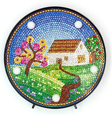 5D Diamond Painting Full Drill Embroidery Cross Stitch Kits Tableware Home Decor