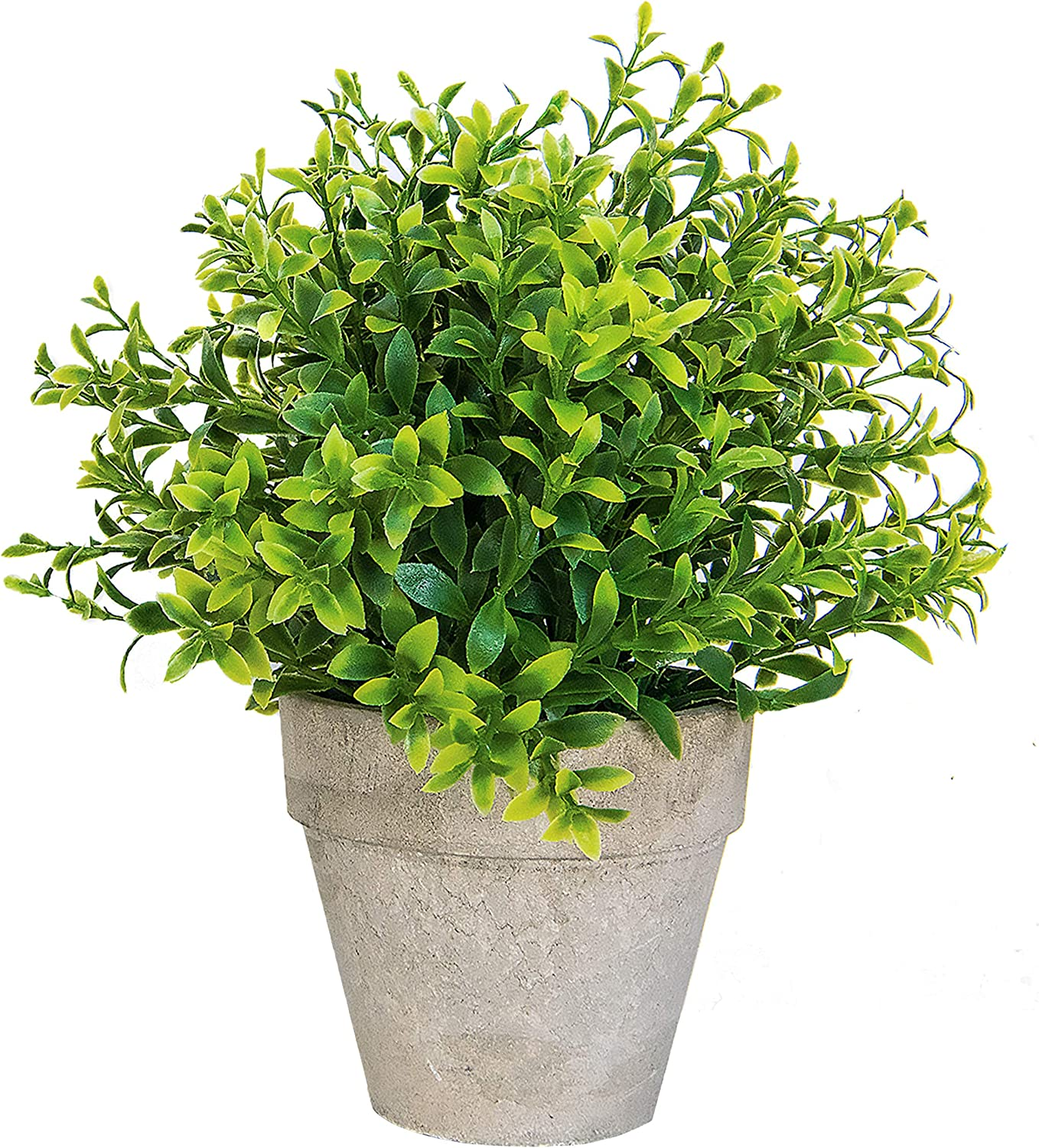 Amazon Com Small Artificial Plants In Pots For Home Decor Fake
