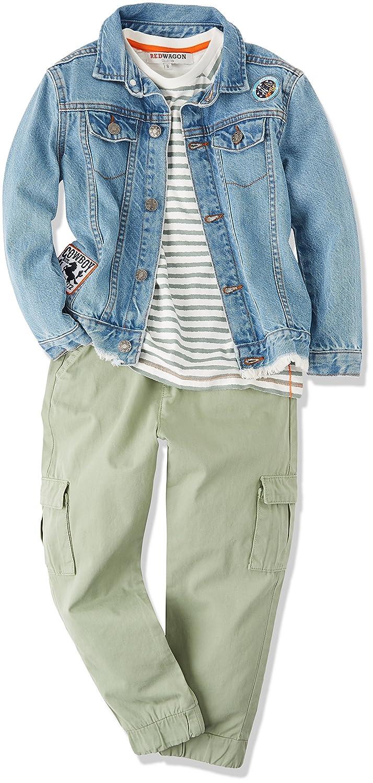 RED WAGON Boys Khaki Pocket Trousers