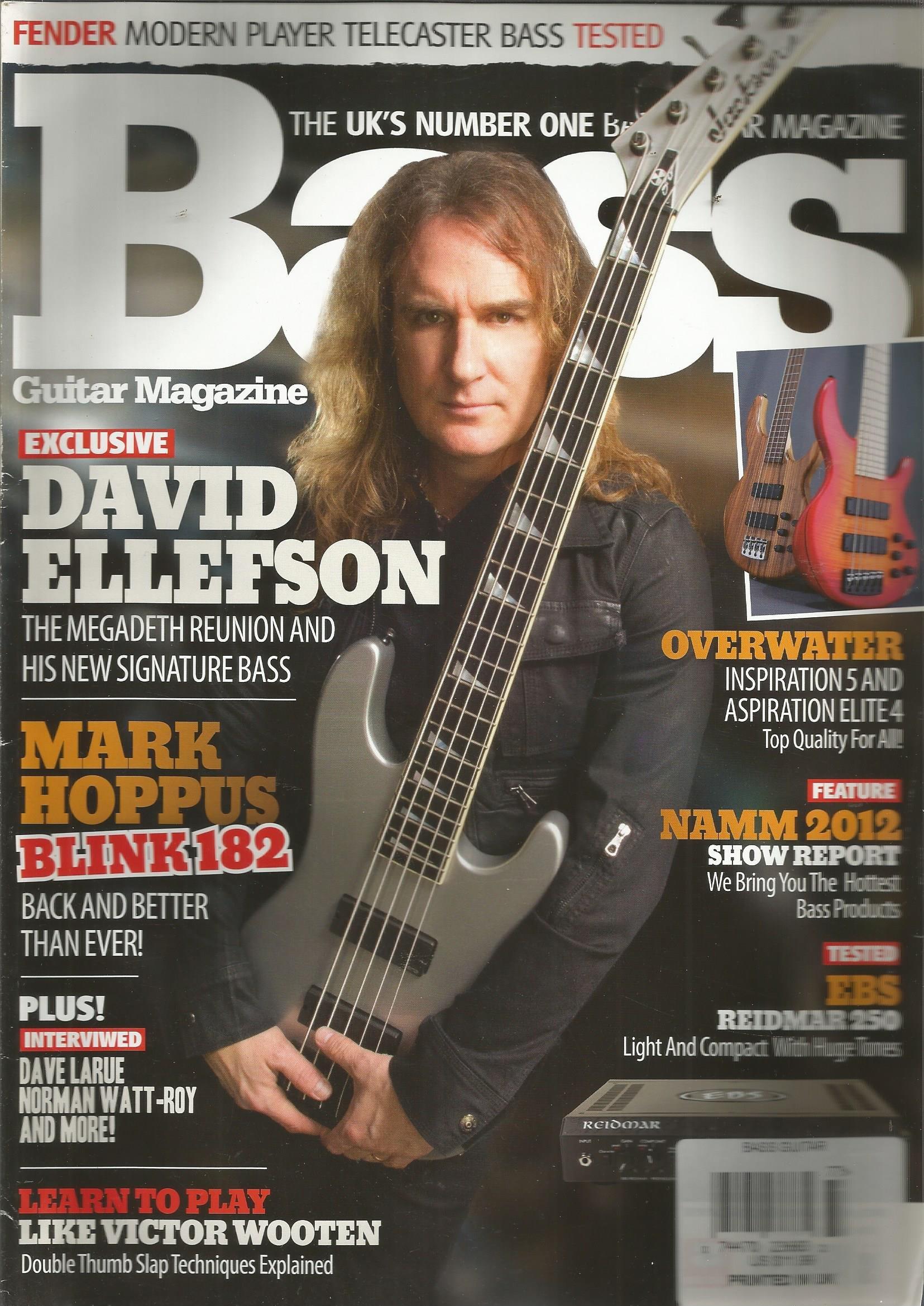 Download Bass Guitar Magazine (David Ellefson,April 2012) ebook