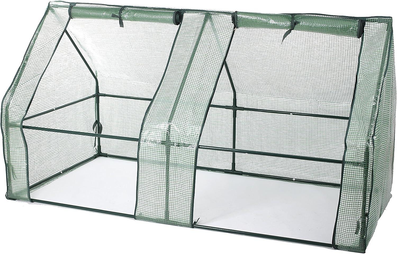 Laminas para invernadero semillero marca Gartenfreude 185 x 95 x 95 cm (an x prof x al)