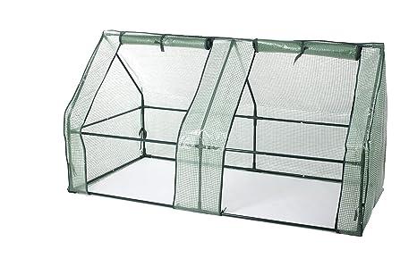 Gartenfreude - Caseta de invernadero, plástico, 185 x 95 x 95 cm