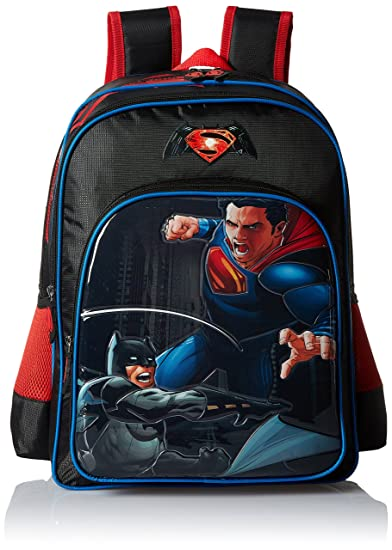 7fe8067866b Batman vs Superman 16 inches Black Children s Backpack (BTS-2009 ...