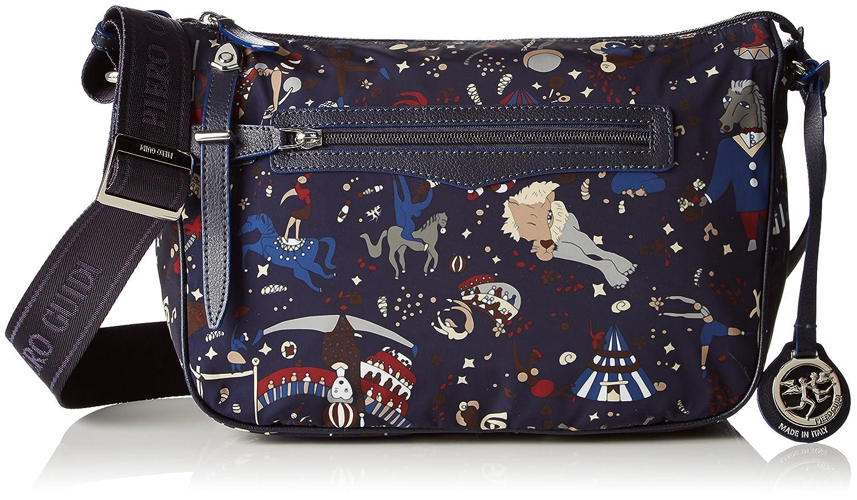 bluee Piero Guidi medium shoulder bag Magic Circus Nylon  bluee