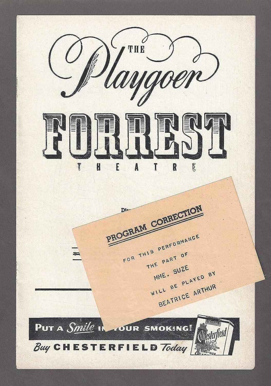 Gloria De Haven'SEVENTH HEAVEN' Ricardo Montalban/Chita Rivera/Beatrice Arthur 1955 FLOP Tryout Playbill