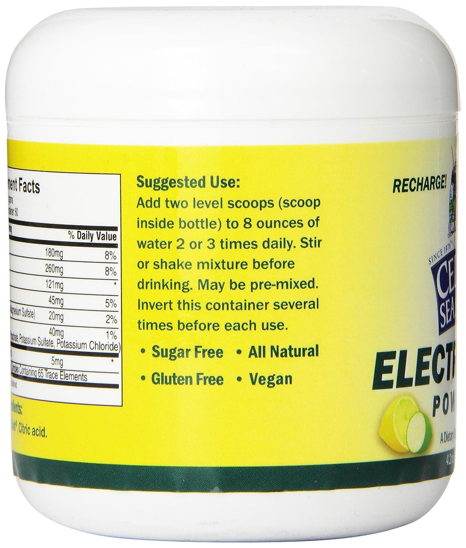 Celtic sea salt electrolyte powder