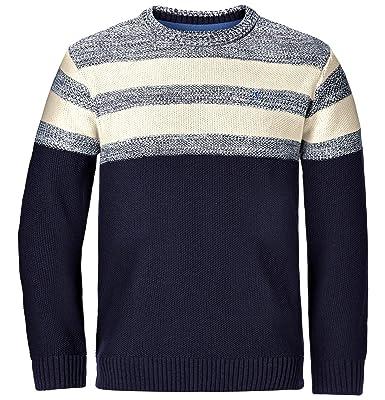 Jan Vanderstorm Herren Pullover in Blau | Stylight