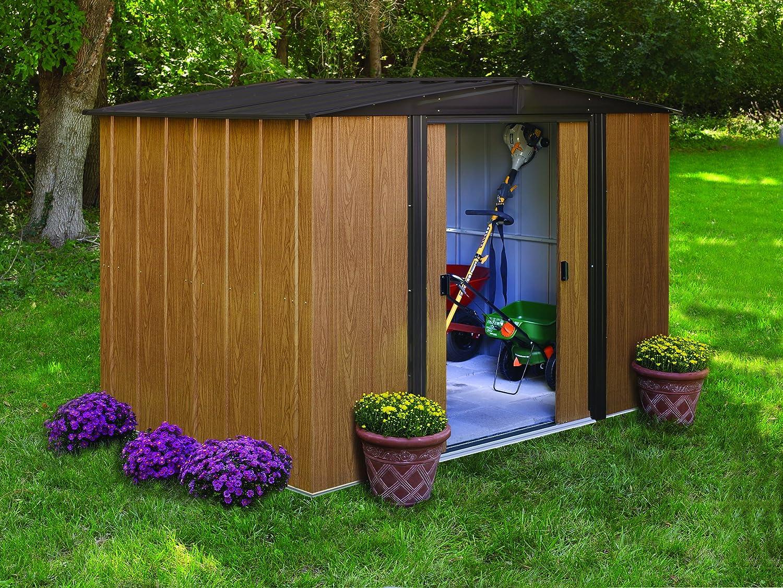 abris de jardin metal amazon. Black Bedroom Furniture Sets. Home Design Ideas