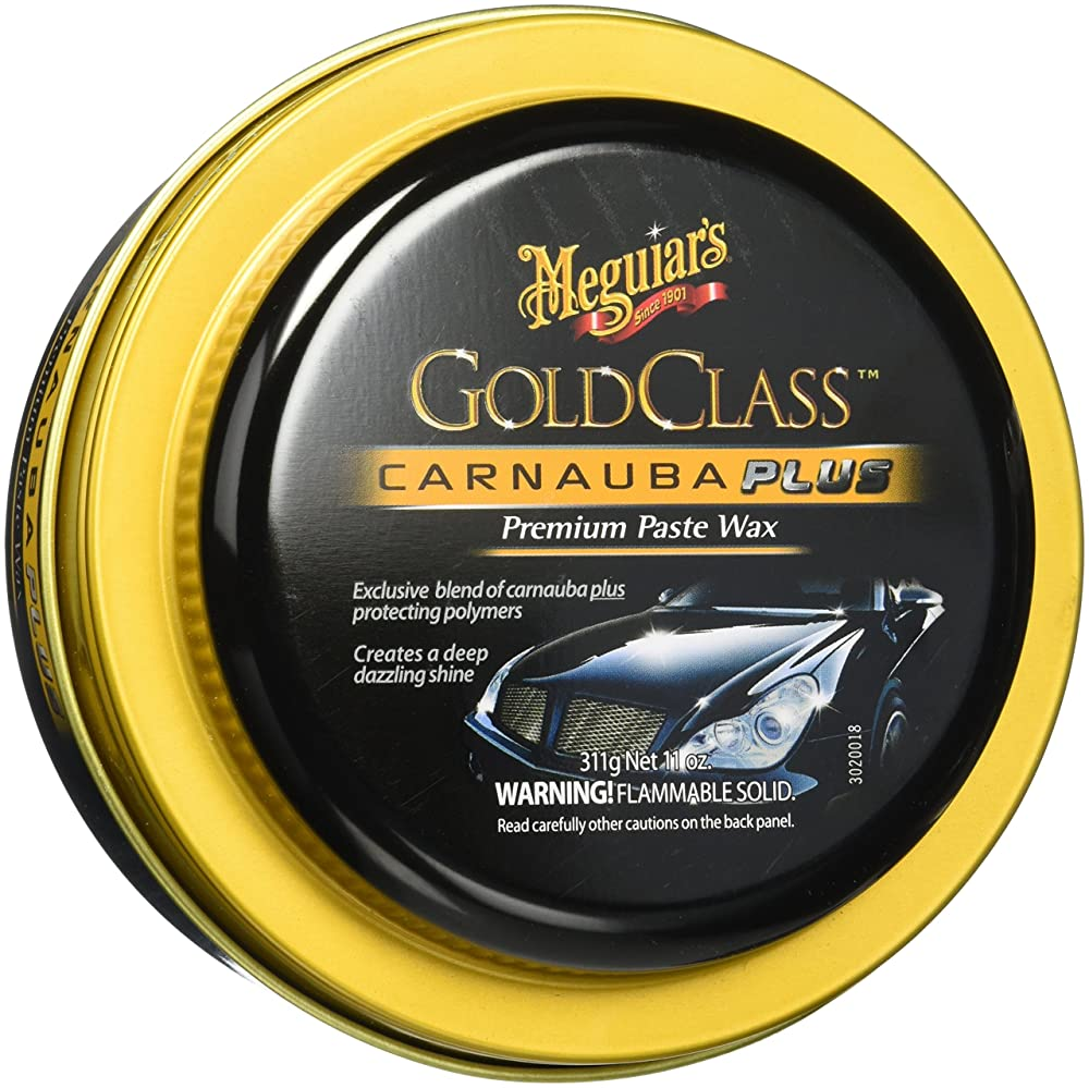 3. Meguiar's Gold Class Carnauba Plus Premium Paste Wax