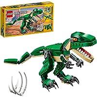 LEGO 31058 Creator 3en1 Grandes Dinosaurios, T. Rex, Triceratops o Pterodáctilo, Juguete de Construcción para Niños y…