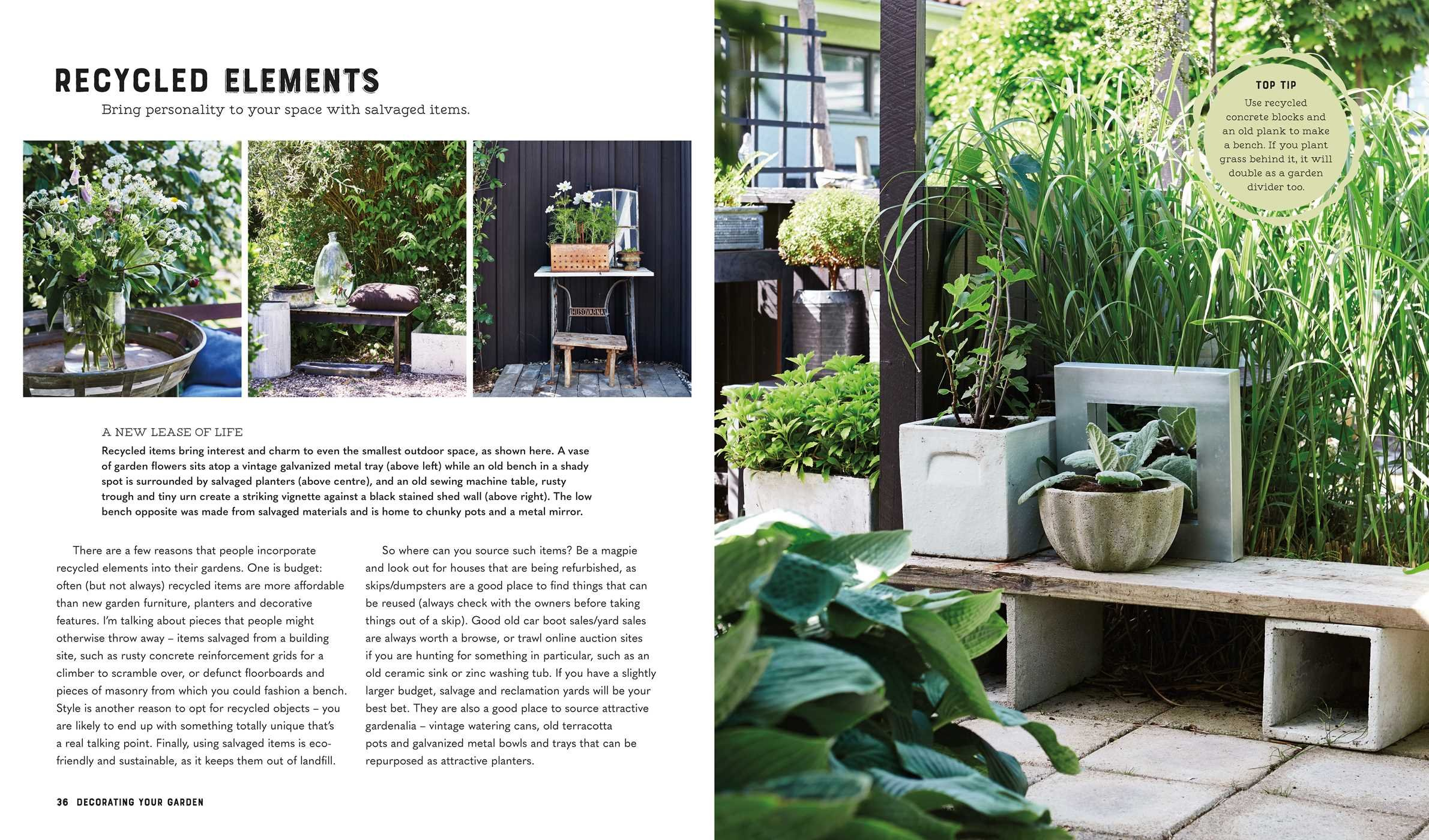 Selina Lake: Garden Style: Inspirational Styling for Your Outside ...