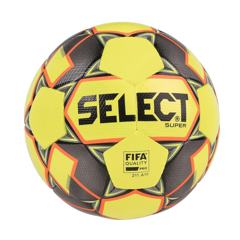 Select Super FIFA - Balón de fútbol, Color Amarillo y Negro ...