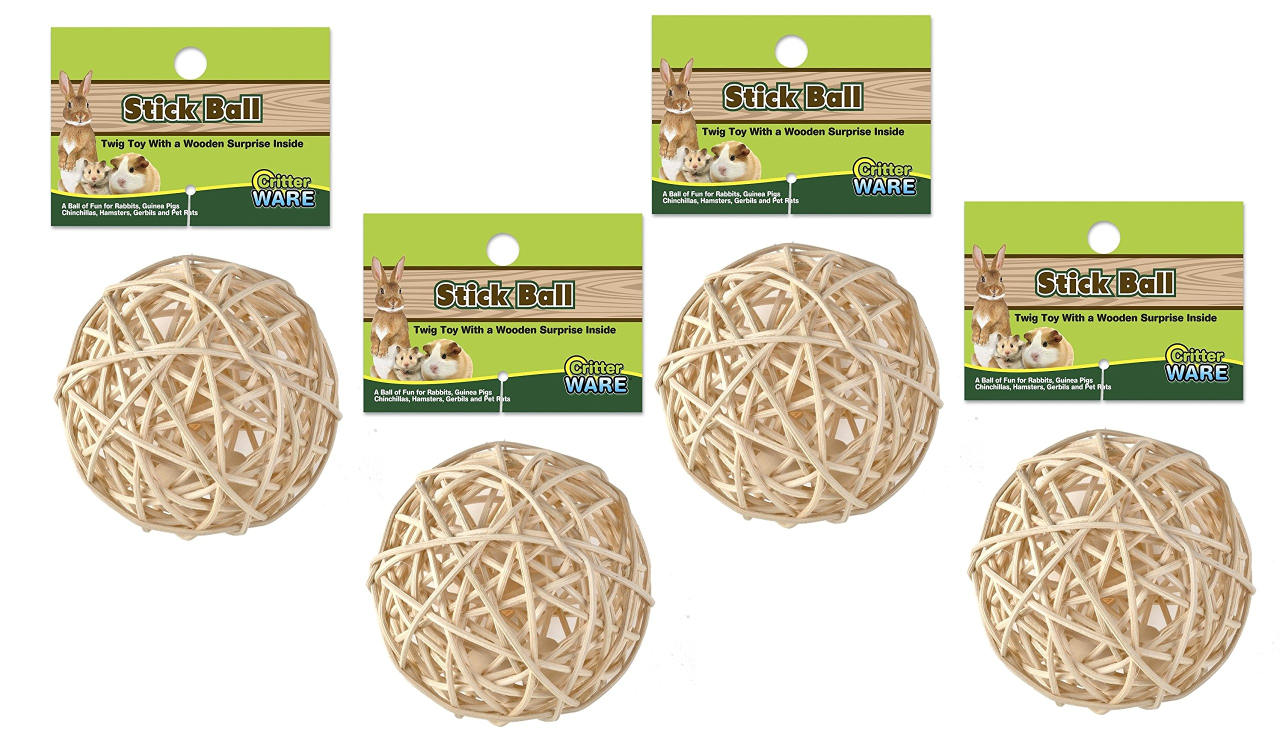Ware Nutty Stick Ball Treats (4 Pack)