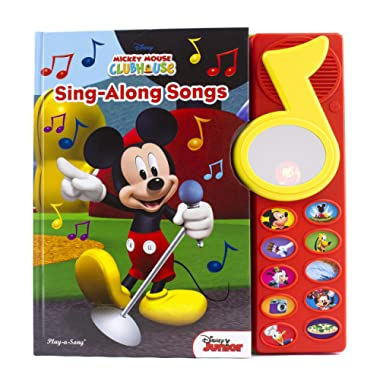 Mickey Mouse Clubhouse - Surprise Mirror Book: Sing-Along Songs - PI Kids