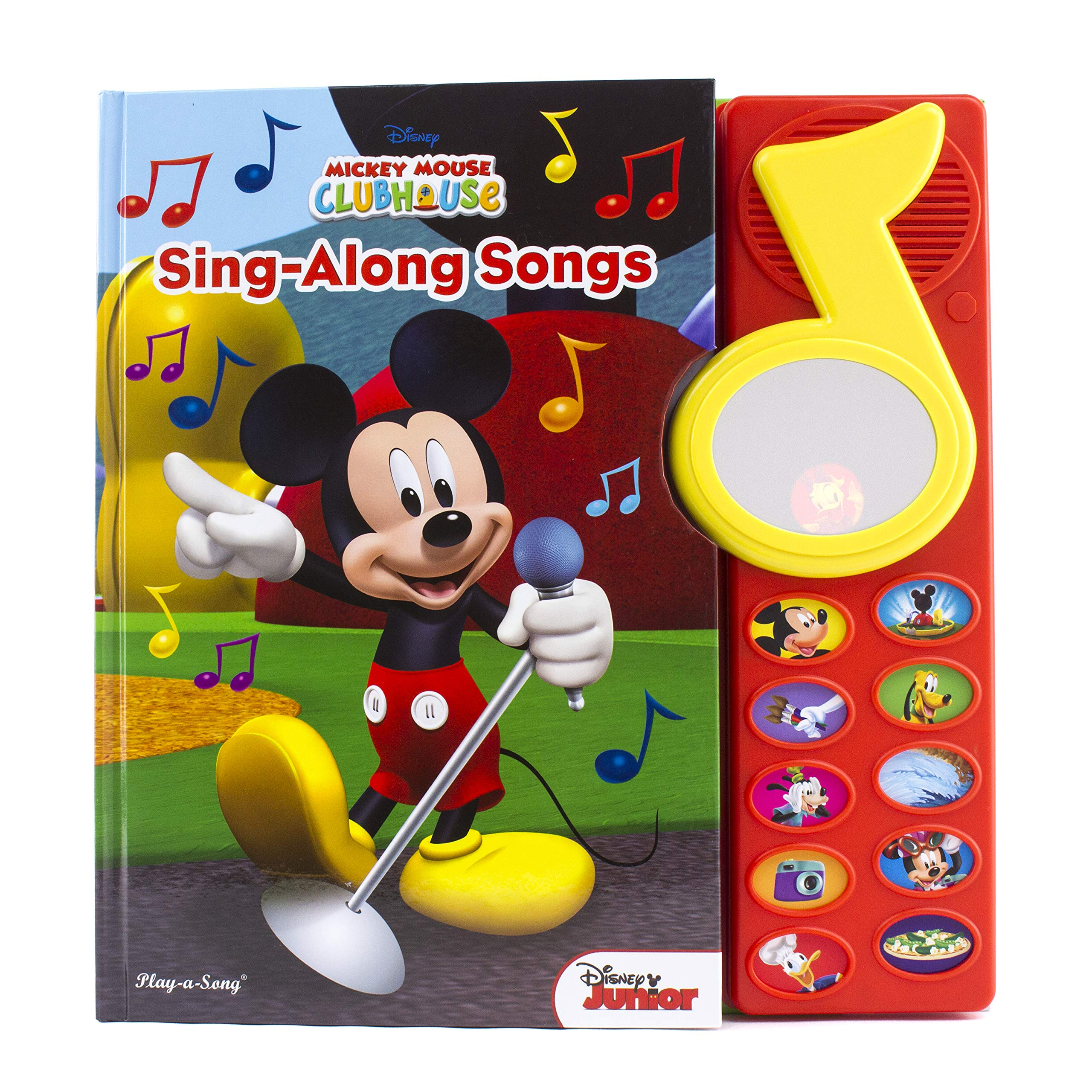 Amazon.com: Mickey Mouse Surprise Mirror Book: Sing-Along Songs ...