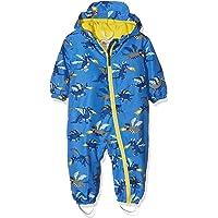 Hatley Boys' Baby Microfiber Rain Bundler Jacket