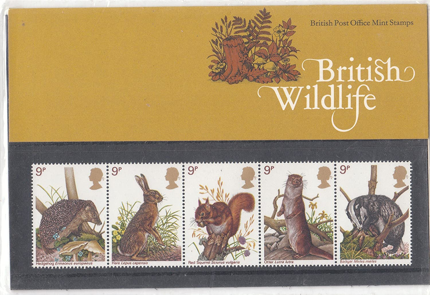 1977 BRITISH WILDLIFE STAMPS Presentation Pack. Royal Mail