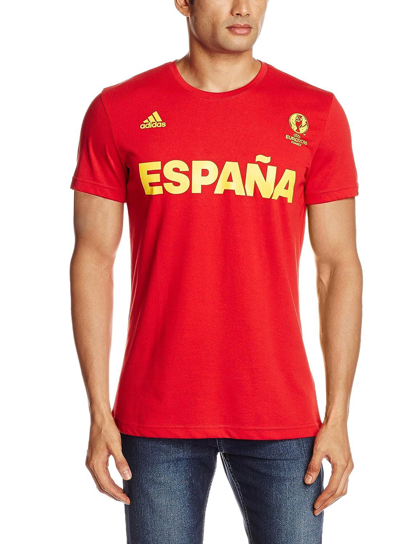 adidas Selección de España - Camiseta Oficial Hombre: Amazon.es ...