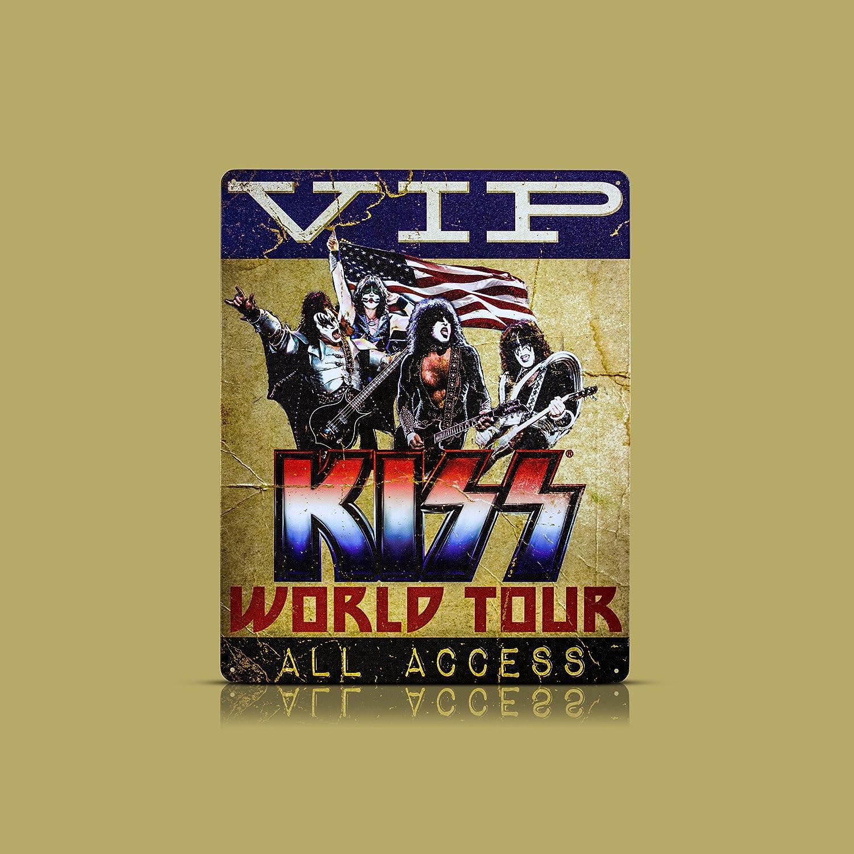 Amazon.com: Millennium Art Journey World Tour Textured Metal Sign ...