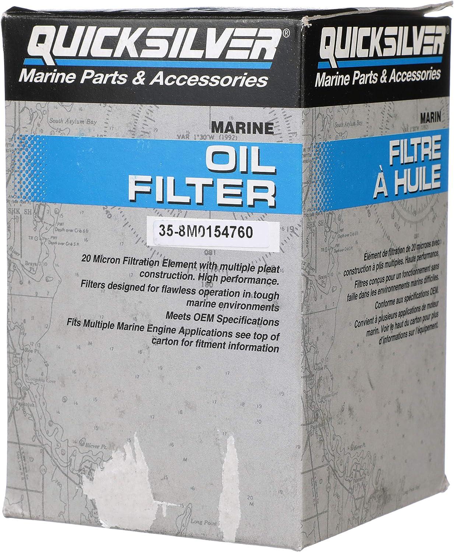 Quicksilver 8M0154760 Oil Filter