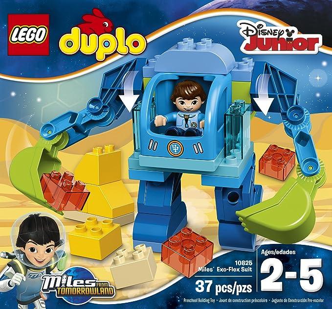 Amazon.com: LEGO DUPLO Disney 10825 Miles Exo-Flex Suit Building Kit ...