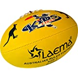 LAEMA Junior AFL Hi-Tech Advance PIN Grip Australian Rules Footy Ball Size 1 and 2
