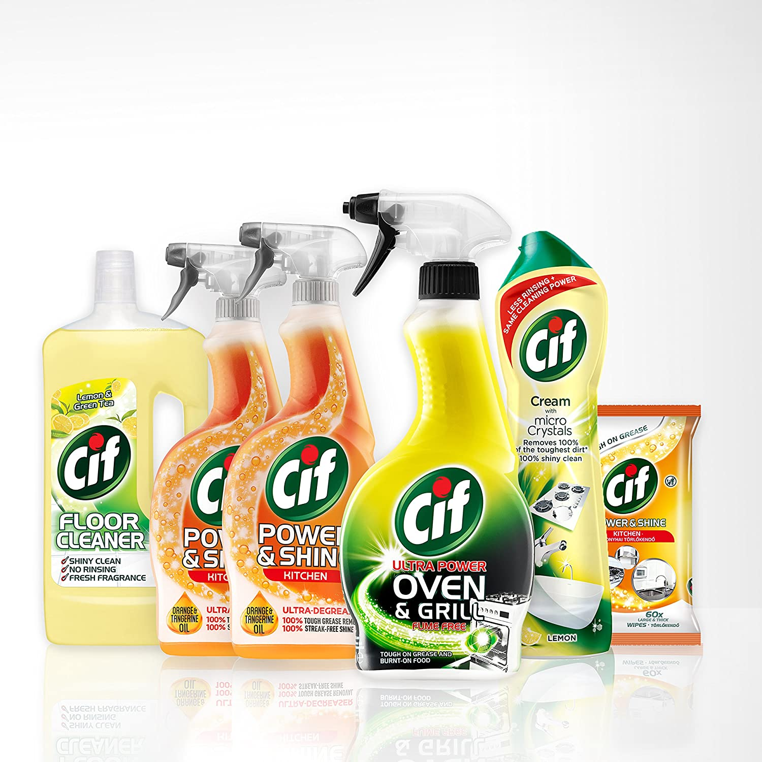 Cif Essential Kitchen Cleaning Kit, 6 items Unilever UK Limited 8710447343920
