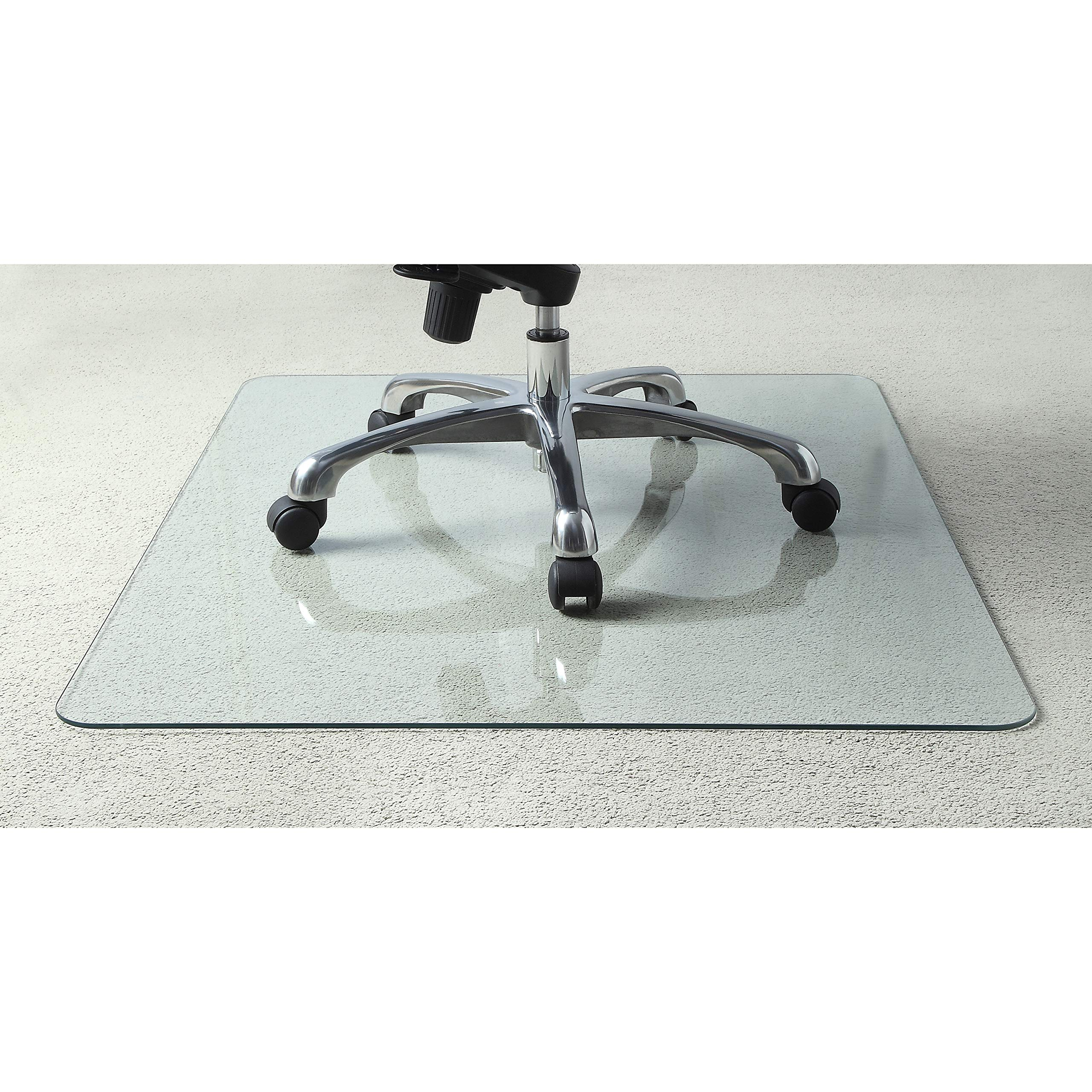 Lorell Tempered Glass Chair Mat by Lorell