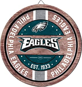 FOCO NFL Team Logo Wooden Barrel Sign