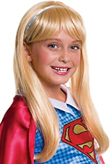 Rubies DC Super Hero Girls Supergirl Child Wig-  sc 1 st  Amazon.com & Amazon.com: Rubieu0027s Costume Kids DC Superhero Girls Deluxe Supergirl ...