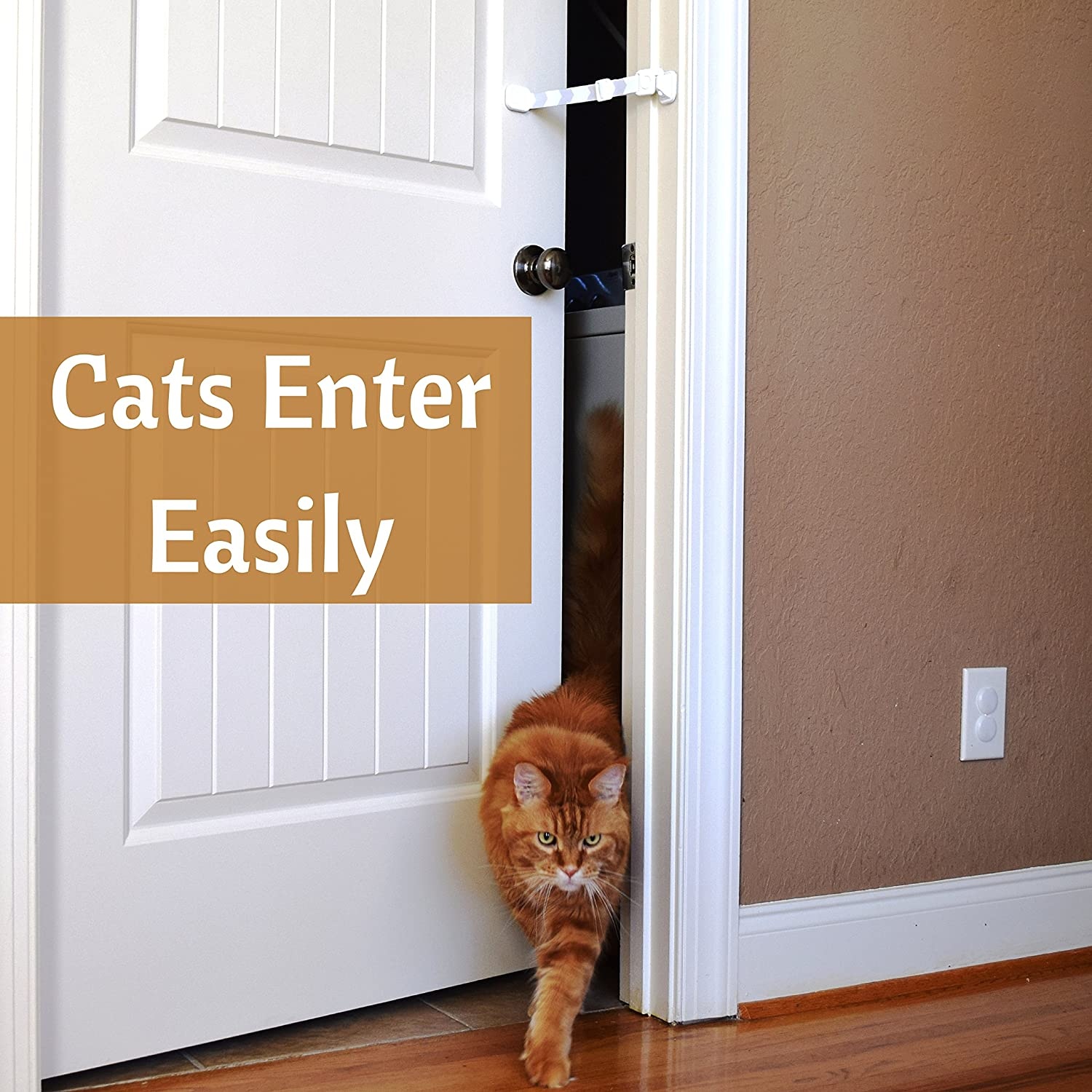 Amazon.com : Door Buddy Baby Proof Door Lock with Adjustable Strap. No Need for Baby Gate. Child Proof Room with Litter Box while Cats Enter Easily. & Amazon.com : Door Buddy Baby Proof Door Lock with Adjustable Strap ... Pezcame.Com