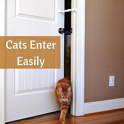 Amazon.com : Door Buddy Adjustable Door Strap \u0026 Latch. Easy Way To Dog Proof Litter Box. No More Pet Gates Or Cat Doors. Convenient Cat \u0026 Adult Entry. & Amazon.com : Door Buddy Adjustable Door Strap \u0026 Latch. Easy Way To ... Pezcame.Com