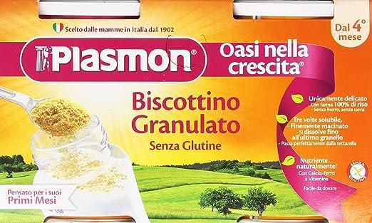 11 opinioni per Plasmon- Biscotto Granulato Gr.340 + 10 (Pacco da 2)