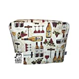 Cozycoverup® Dust Cover for Kenwood Food Mixer in Vintage Wine Collection (MultiOne)