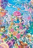 500ピース ジグソーパズル ふしぎの国のアリス アリス イン スイーツランド ぎゅっとシリーズ【ピュアホワイト】(25x36cm)