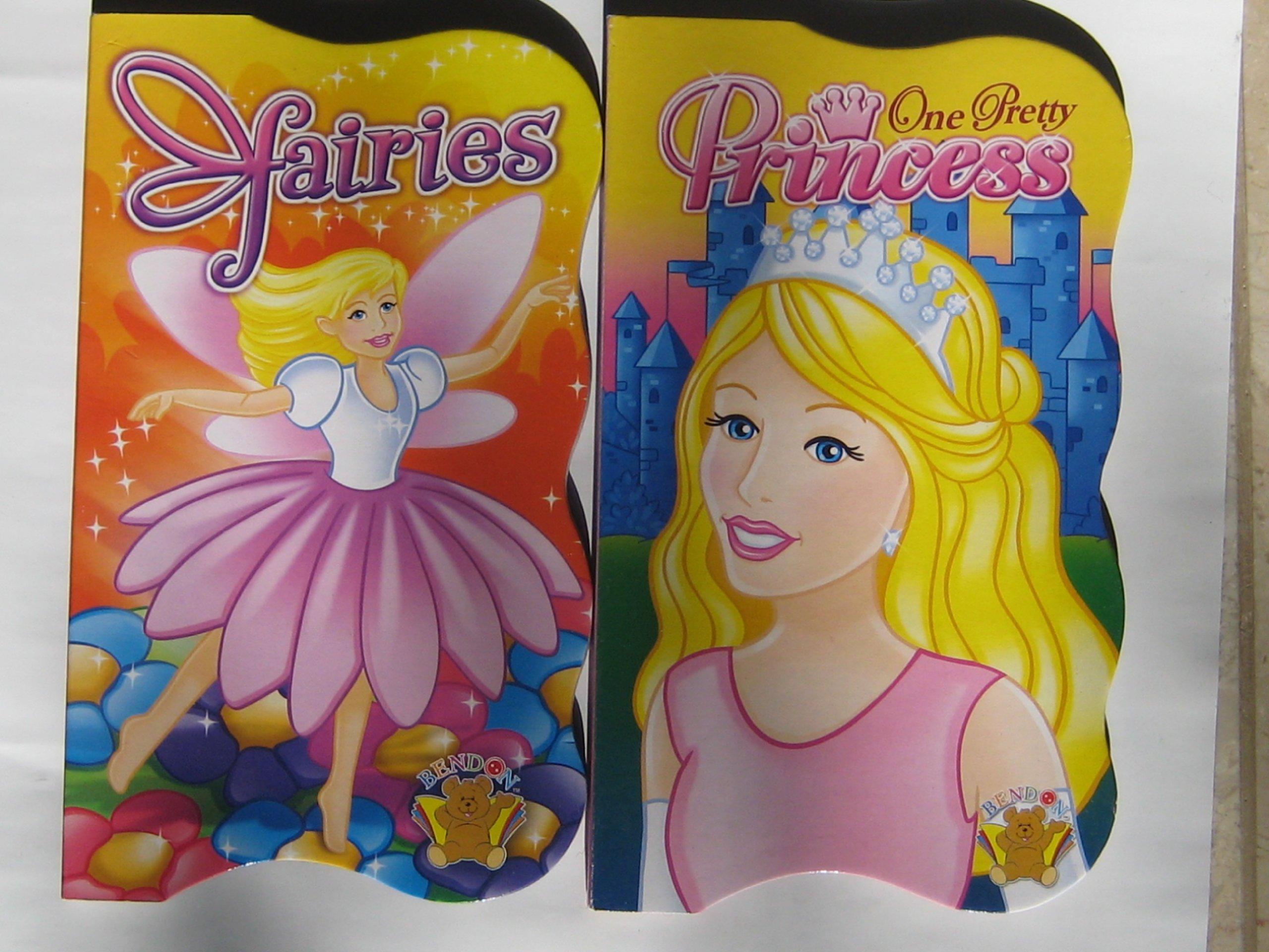 Girls board book 2-Pack Fairies & One Pretty Princess pdf