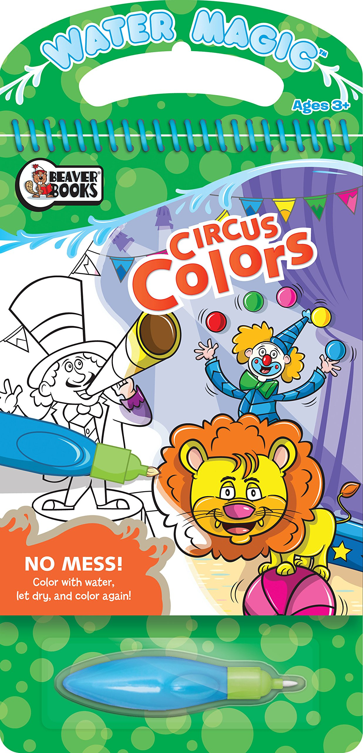 water magic circus colors beaver books 9781770660946 books
