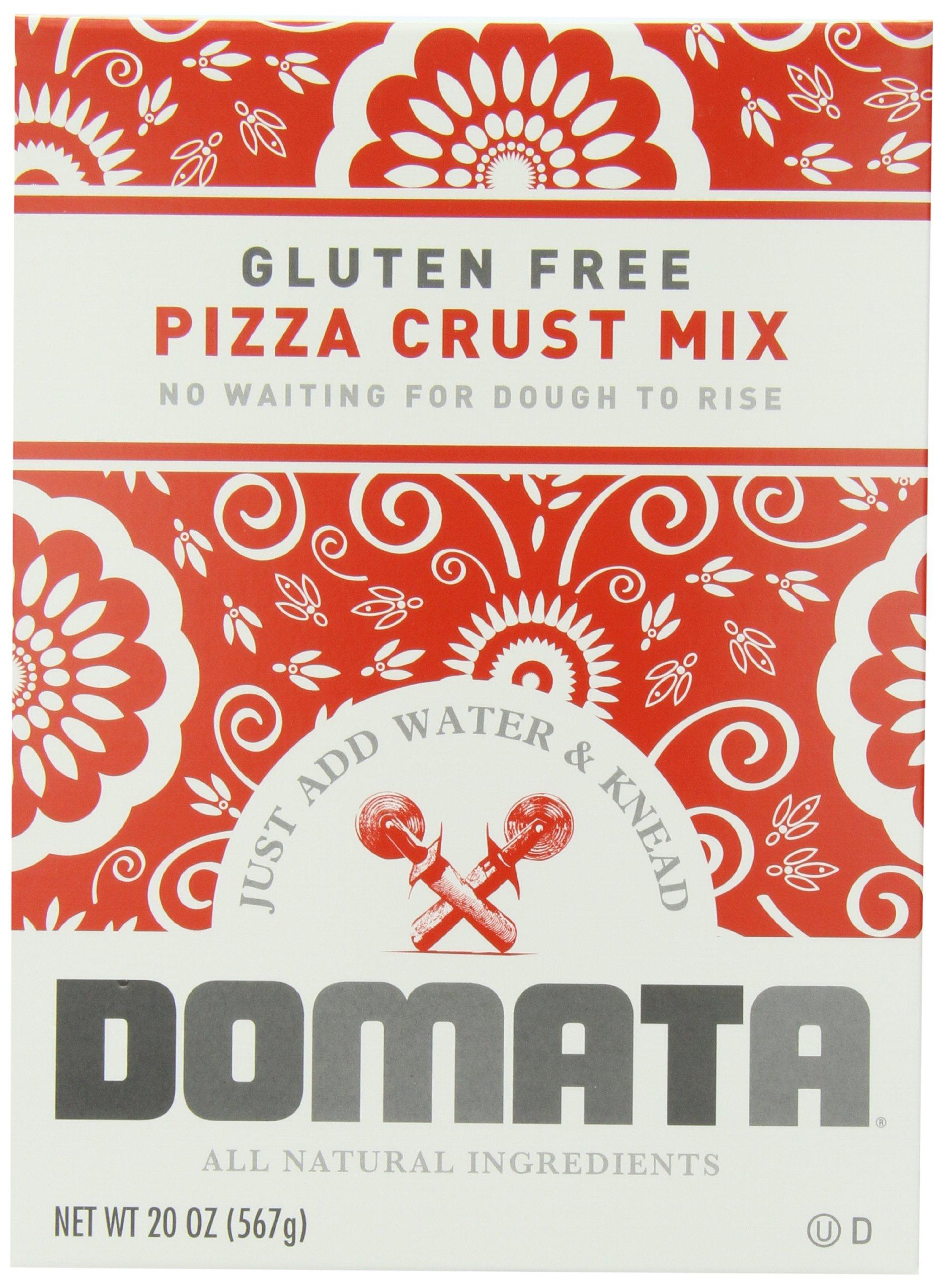 Domata Living Mix Pizza Crust, 20-Ounce