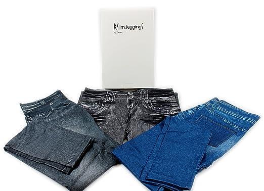 76adb690230da giftsbynet 3 Pack Zlimmy Slim Jeggings Skinny Shapewear Slimming Control  UK: Amazon.co.uk: Clothing