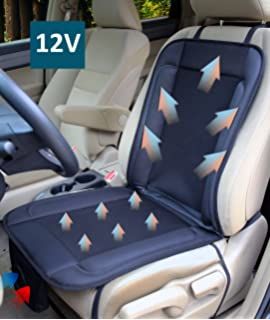 ObboMed SA 4280 12V Cooling Ventilated Breathable Air Flow Car Seat Fan Cushion With